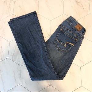 American Eagle Kick Boot Jeans, size 2 Short